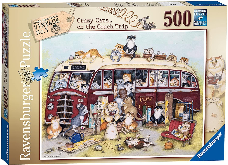 PUZZLES 500 piece jigsaw.Coach Trip